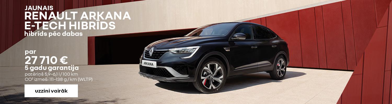 Renault ARKANA akcija