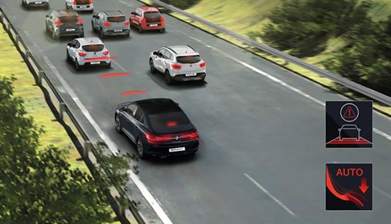 Renault MEGANE GRANDCOUPE tehnologijas