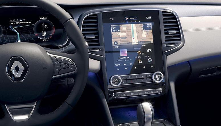 Renault TALISMAN GRANDTOUR tehnologijas