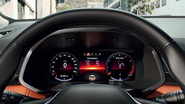 Jaunais Renault CAPTUR Novatoriskās tehnoloģijas
